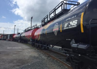 HAZMAT Training Rail Cars